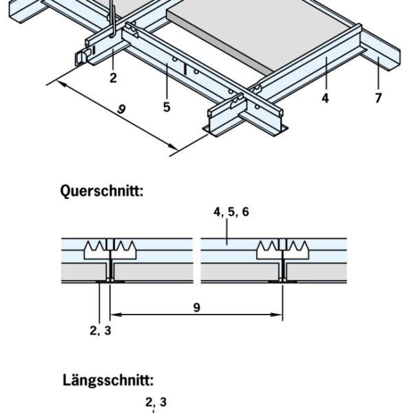 Mineralfaser S3 herausnehmbar
