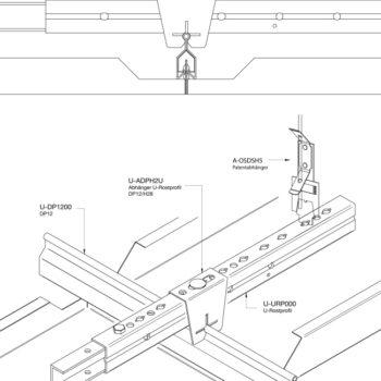 System DP12 mit Oesendraht Klemmsystem